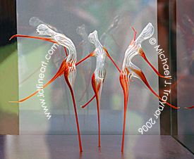 Dancing Glass Figurines