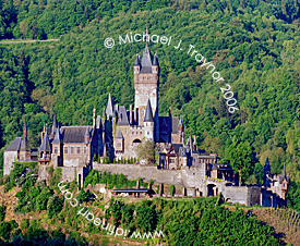 Castle of Cochem on the Mosel, Germany