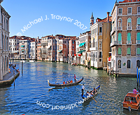 Gondoliers of Venice, Italy